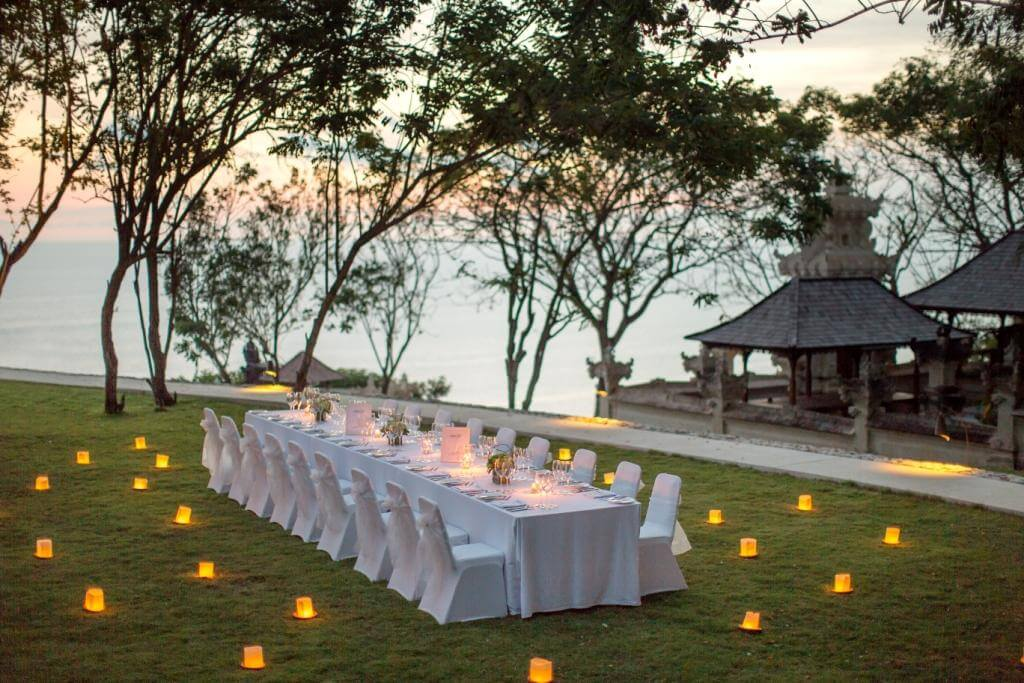 Cliff Top Lawn Wedding Bali