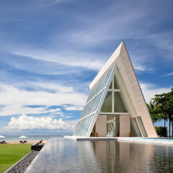 Conrad Bali Wedding Chapel Infinity