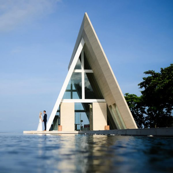 Conrad Bali Wedding Chapel
