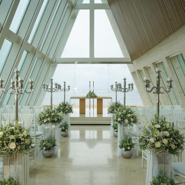 Conrad Bali Wedding Chapel Infinity - Inside