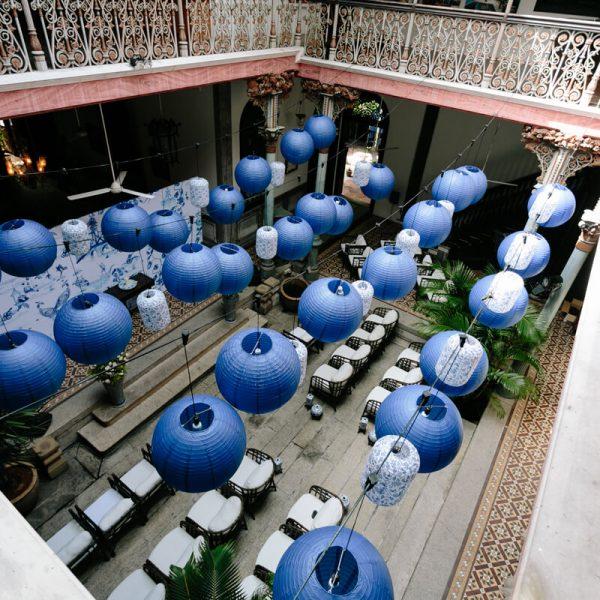 Blue Mansion Lampion Penang